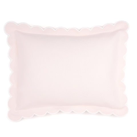 Diamond Pique Boudoir Pillow, Pink