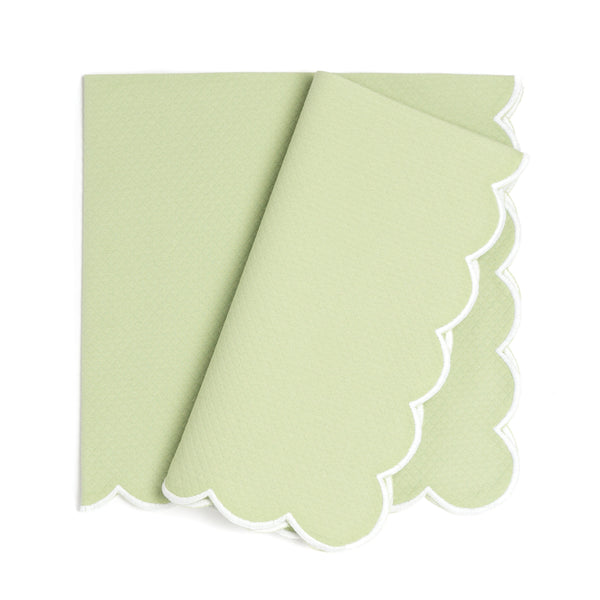 Savannah Gardens Dinner Napkin, Spring Green