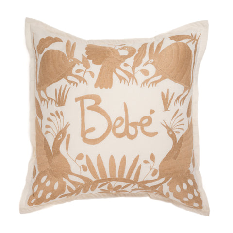 Bebe Pillow, Tan
