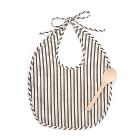 Bib Set, Ticking Stripe