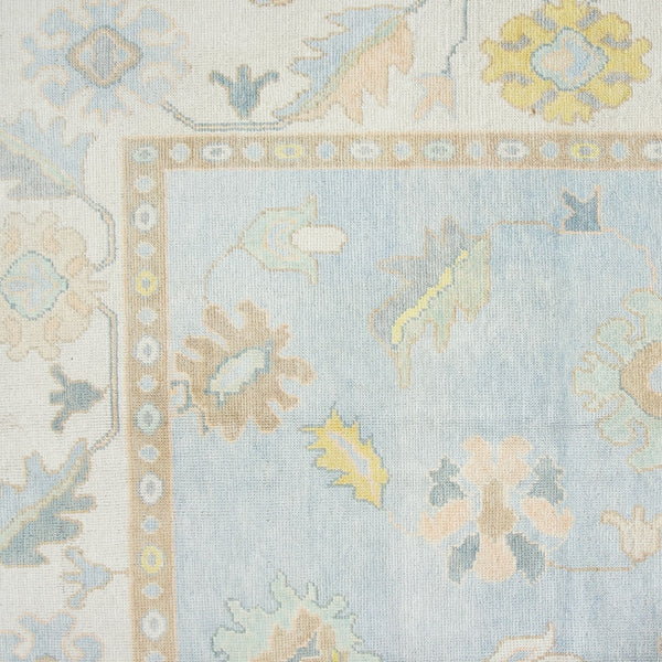 Wool Oushak Rug No. 1037