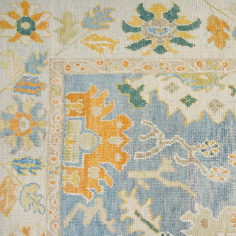 Wool Oushak Rug No. 1038