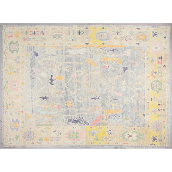 Wool Oushak Rug No. 1022