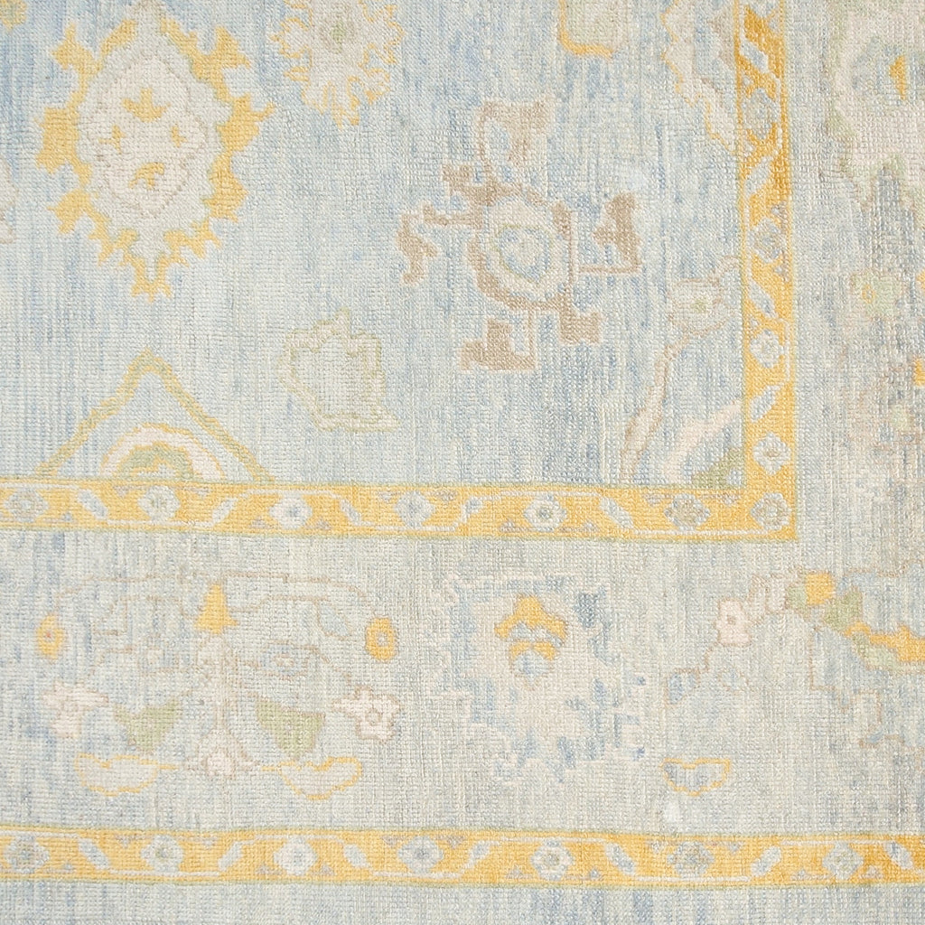 Wool Oushak Rug No. 1018