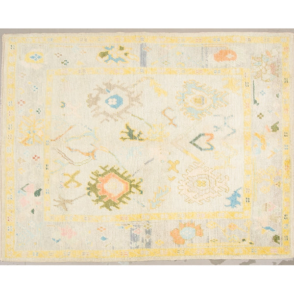 Wool Oushak Rug No. 1031
