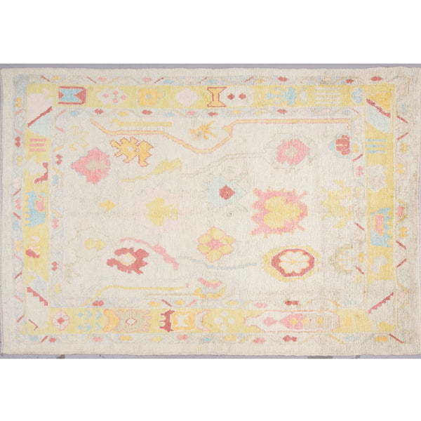Wool Oushak Rug No. 1034