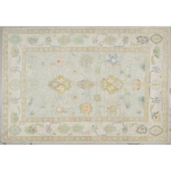 Wool Oushak Rug No. 1033