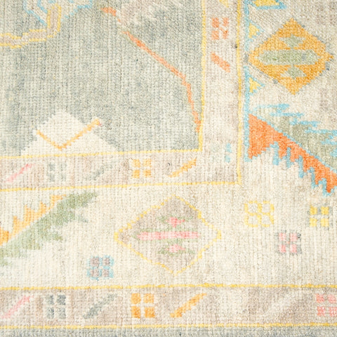 Wool Oushak Rug No. 1043