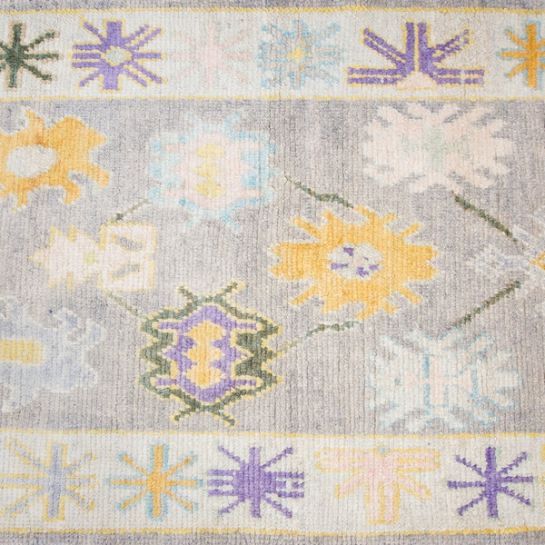 Wool Oushak Runner No. 1030
