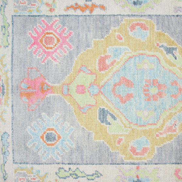 Wool Oushak Runner No. 1028