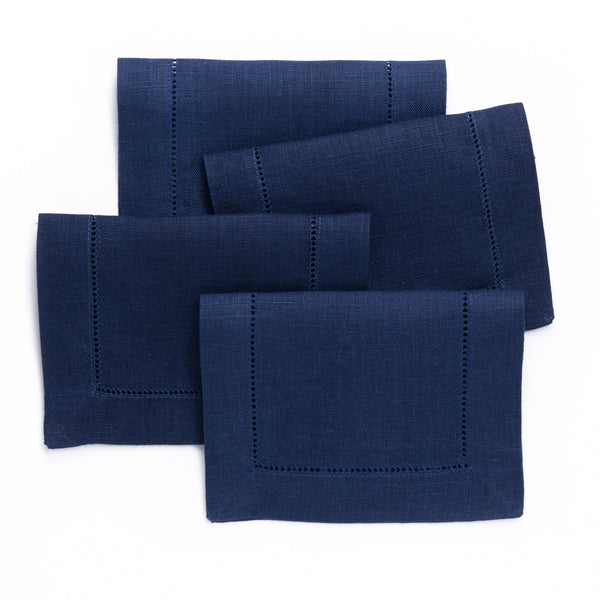 Festival Cocktail Napkin, Navy