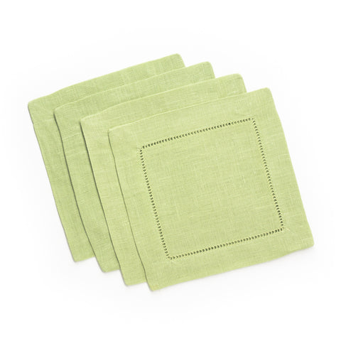 Festival Square Cocktail Napkin, Kiwi