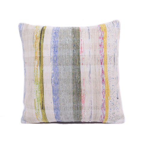 Multi Basket Weave Kilim Pillow