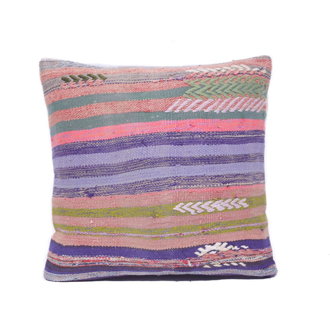 Multi Stripe Kilim Pillow, I