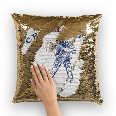 Crush City Sequin Cushion Cover