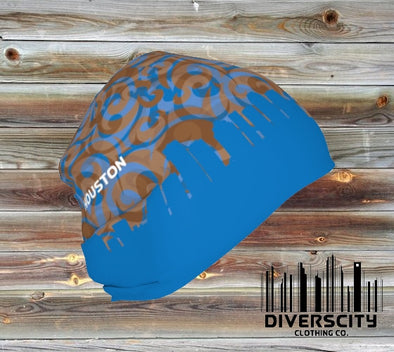 Houston Diverscity Beanie BLUE/CHOCOLATE