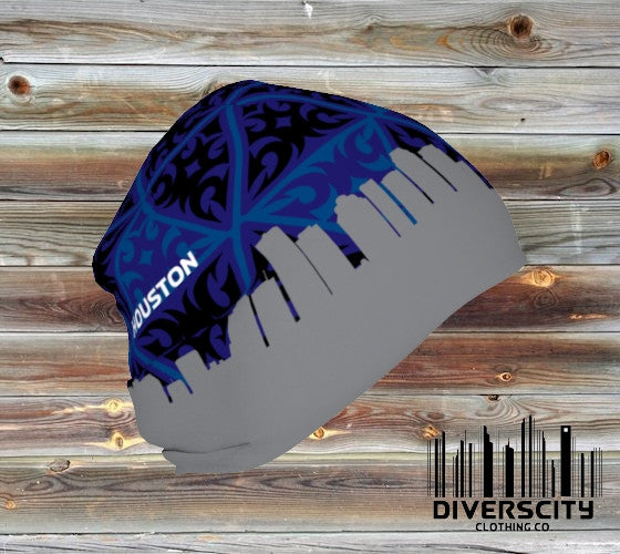 Houston Diverscity Beanie BLUE TRIBAL