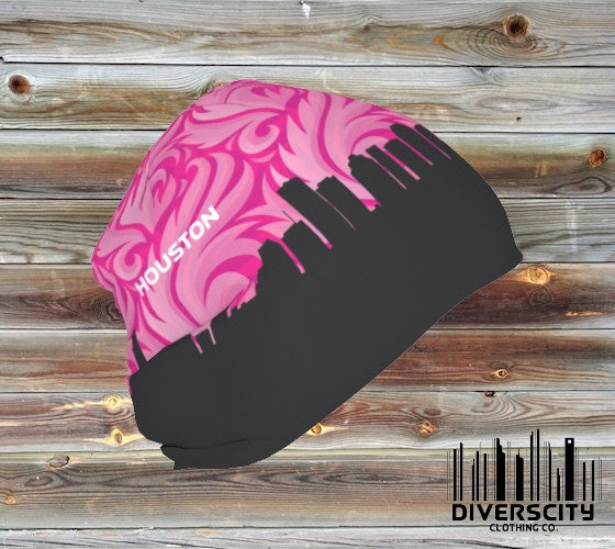 Houston Diverscity Beanie PINK PLUME