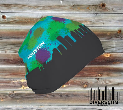 Houston Diverscity Beanie Womens SPLATTER