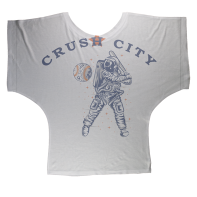 Crush City Sublimation Batwing Top