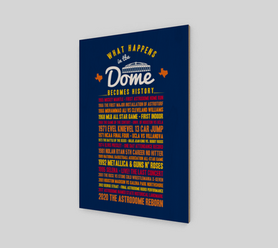 DOME History Wall Art