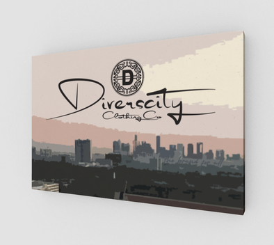 Diverscity Clothing Co. Canvas Art
