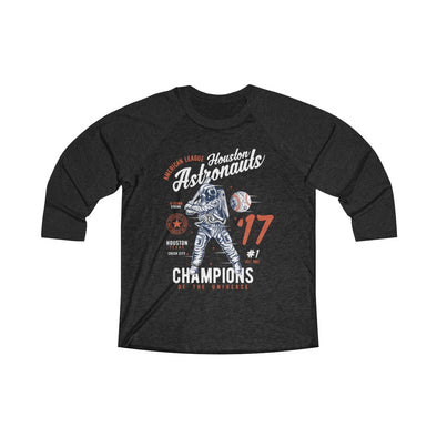 Champions of the Universe Tri-Blend 3/4 Raglan Tee