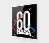 NASA 60th Anniversary Acrylic Print