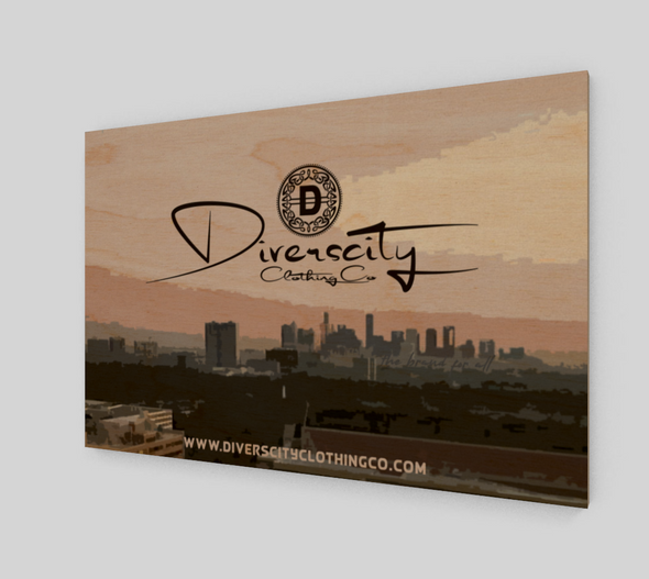 Diverscity Clothing Co. Wall Art