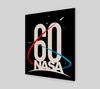 NASA 60th Anniversary Wood Print