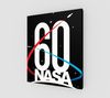 NASA 60th Anniversary Canvas Print