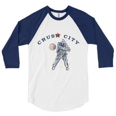 Crush City 3/4 Sleeve Raglan Tee