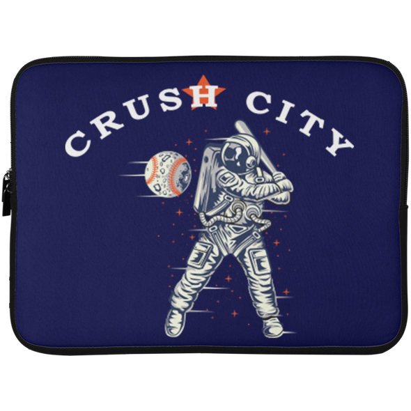 Crush City Astros Laptop Sleeve - 15 Inch