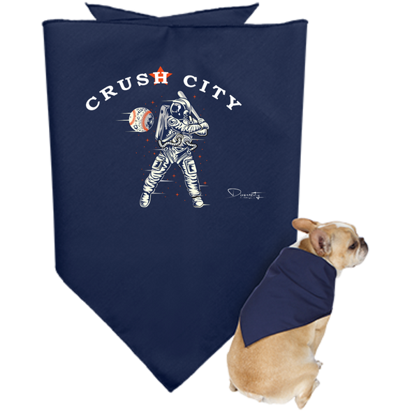 Crush City Astros Doggie Bandana