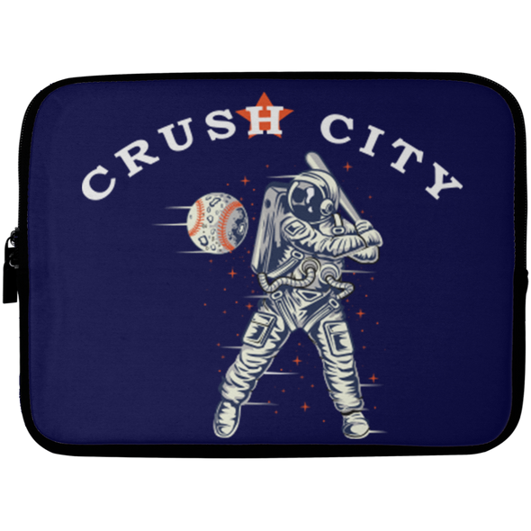 Crush City Astros Laptop Sleeve - 10 inch