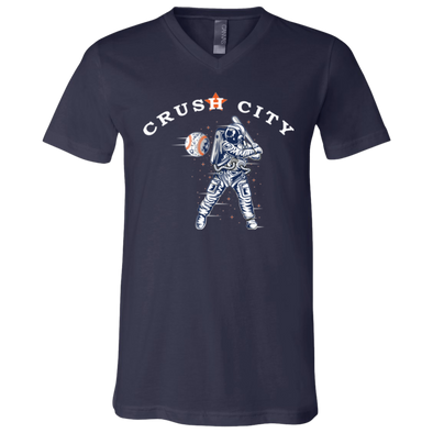 Crush City Youth Short Sleeve V-Neck Jersey T-Shirt