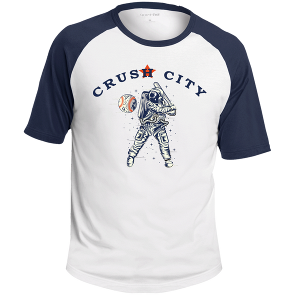 Crush City Astros Colorblock Raglan Jersey