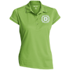 Ladies Contrast Stitch Micropique Performance Polo