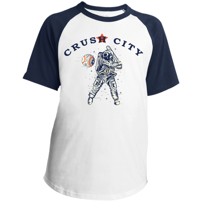 Crush City Youth Colorblock Raglan Jersey