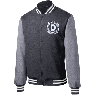 Diverscity Symbol Fleece Letterman Jacket