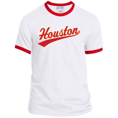 Forever Houston Ringer Tee red/gold