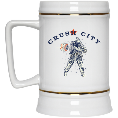 Crush City Astros Beer Stein - 22 oz