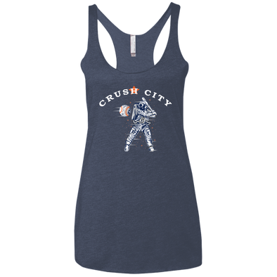 Crush City Ladies' Triblend Racerback Tank