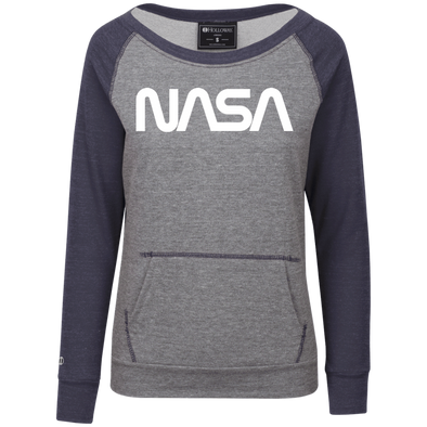 NASA Junior's Vintage Terry Fleece Crew