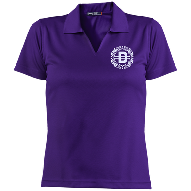 Ladies Dri-Mesh Short Sleeve Polo