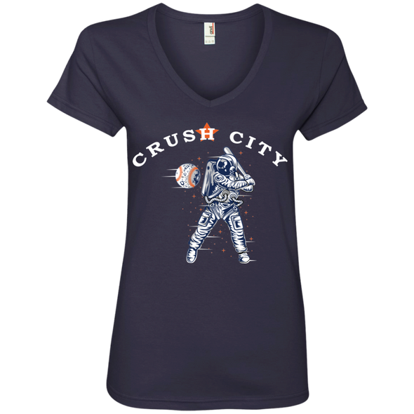 Crush City Ladies' V-Neck T-Shirt