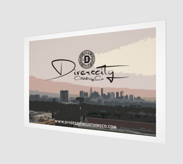 Diverscity Clothing Co. Art Print