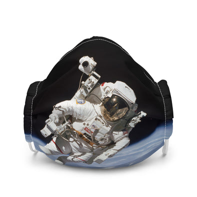 Untethered Astronaut Premium face mask