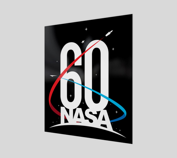 NASA 60th Anniversary Poster