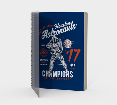 Champions of the Universe Spiral Notebook